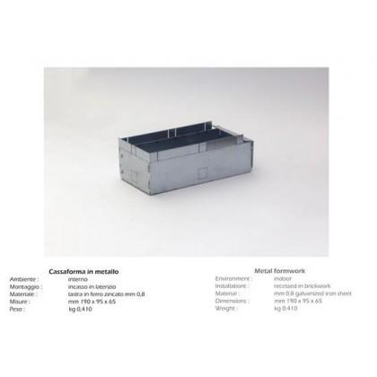 Cassaforma in metallo ISY Luce per Art 823