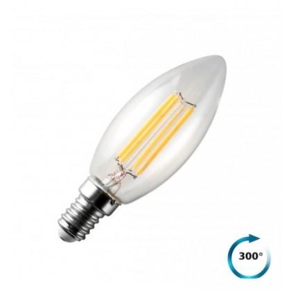 Lampadina E14 LED Filamento Oliva 4W