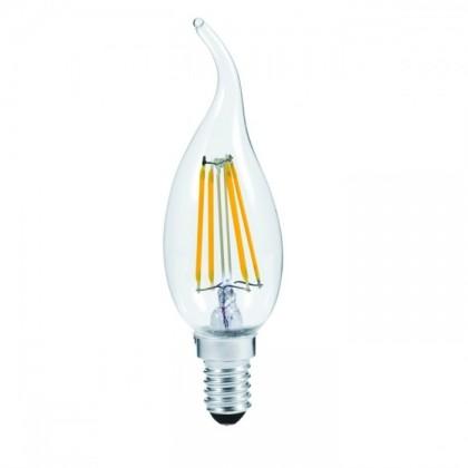Lampadina E14 LED Filamento Soffio 4W