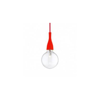 Sospensione Ideal lux MinimalSP1-rosso-E27