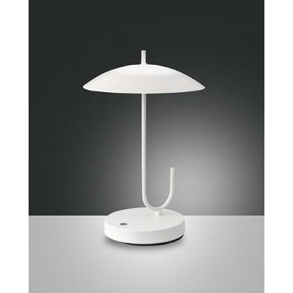 Lume da tavolo Fabas Ombrello Bianco