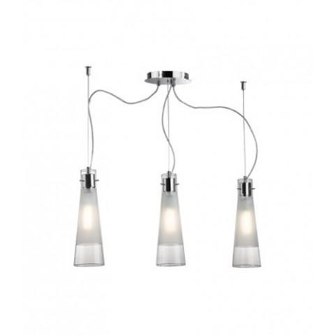 Sospensione Ideal lux Kuky ClearSP3-trasparente-E27
