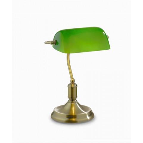 Lampada Ideal lux Lawyer TL1-brunito