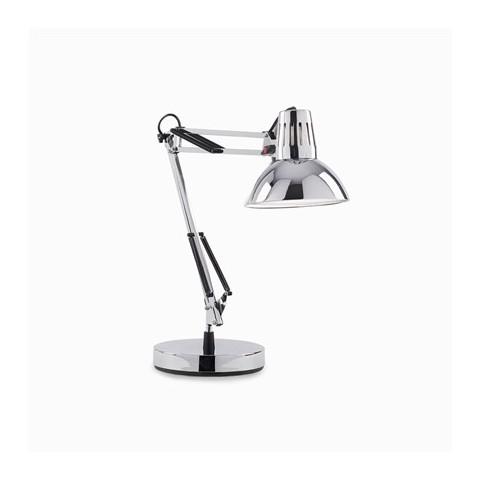 Lampada da tavolo Wally Ideal lux TL1 CROMO